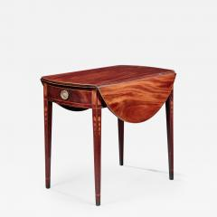 Federal Inlaid Pembroke Table - 784439