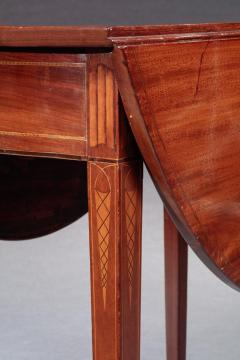 Federal Inlaid Pembroke Table - 843978
