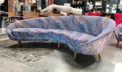 Federico Munari Federico Munari Mid Century Italian Curved Lounge Chairs 1958 - 514644