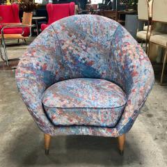 Federico Munari Federico Munari Mid Century Italian Curved Lounge Chairs 1958 - 514646
