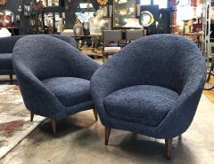 Federico Munari Federico Munari chairs Mid Century Italian Curved Lounge Chairs 1958 - 964886