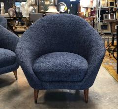 Federico Munari Federico Munari chairs Mid Century Italian Curved Lounge Chairs 1958 - 964887