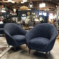 Federico Munari Federico Munari chairs Mid Century Italian Curved Lounge Chairs 1958 - 964891