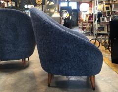 Federico Munari Federico Munari chairs Mid Century Italian Curved Lounge Chairs 1958 - 964892