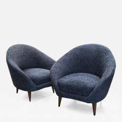 Federico Munari Federico Munari chairs Mid Century Italian Curved Lounge Chairs 1958 - 967184