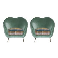 Federico Munari Pair of Armchairs Designed by Federico Munari - 509644