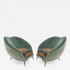 Federico Munari Pair of Armchairs Designed by Federico Munari - 513209
