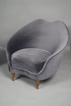 Federico Munari Pair of Chairs by Federico Munari Italy 1950s - 736642