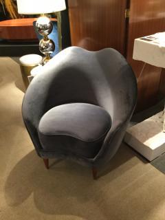 Federico Munari Pair of Chairs by Federico Munari Italy 1950s - 736664
