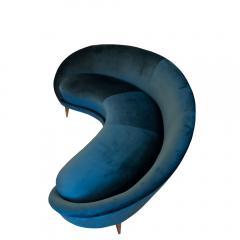 Federico Munari Vintage curved sofa by Federico Murano - 1270098