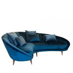 Federico Munari Vintage curved sofa by Federico Murano - 1270102