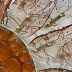Felipe Derflinger Feders Fabulous Sun Flower Glass Wall Sconce by Felipe Delfinger Mexico 1970s - 1983040
