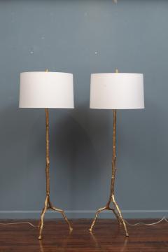 Felix Agostini Style Tree Branch Form Floor Lamps - 1938189