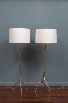 Felix Agostini Style Tree Branch Form Floor Lamps - 1938190