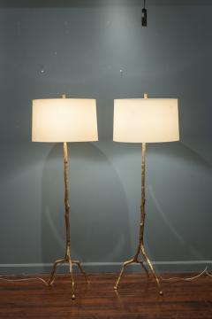 Felix Agostini Style Tree Branch Form Floor Lamps - 1938193