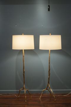 Felix Agostini Style Tree Branch Form Floor Lamps - 1938194