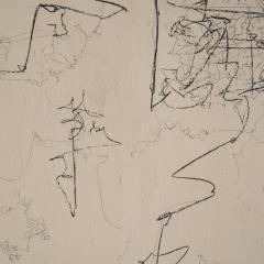 Felix Bachmann Contemporary Modern Abstract Painting Acrylic on Canvas - 639207