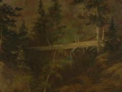 Feodor von Luerzer Lester River Duluth 1890 Landscape Painting by Feodor von Luerzer - 1117319