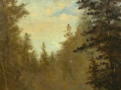 Feodor von Luerzer Lester River Duluth 1890 Landscape Painting by Feodor von Luerzer - 1117321