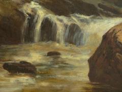 Feodor von Luerzer Lester River Duluth 1890 Landscape Painting by Feodor von Luerzer - 1117323