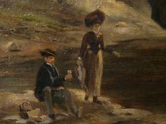 Feodor von Luerzer Lester River Duluth 1890 Landscape Painting by Feodor von Luerzer - 1117325