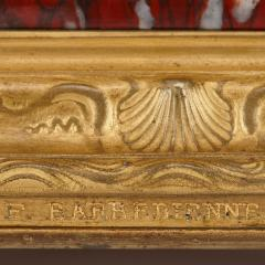 Ferdinand Barbedienne Antique red marble and gilt bronze inkstand by Barbedienne after Caffieri - 1290622