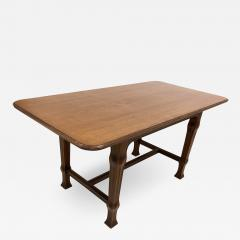 Ferdinand Boberg Swedish Art Nouveau Library or Dining Table Attributed to Ferdinand Boberg - 2064796