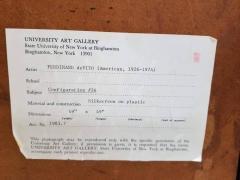 Ferdinand DeVito Ferdinand deVito Op Art Painting American 1965 - 1042093