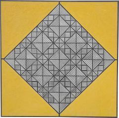 Ferdinand DeVito Ferdinand deVito Op Art Painting American 1965 - 1042108