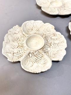 Fern Leaf Artichoke Plates Set of 12 - 1932355