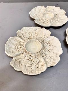 Fern Leaf Artichoke Plates Set of 12 - 1932356