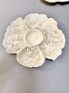 Fern Leaf Artichoke Plates Set of 12 - 1932357