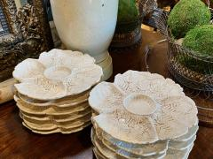 Fern Leaf Artichoke Plates Set of 12 - 1932358