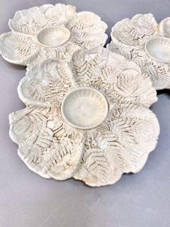 Fern Leaf Artichoke Plates Set of 12 - 1932359