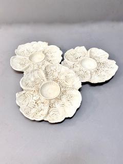 Fern Leaf Artichoke Plates Set of 12 - 1932360