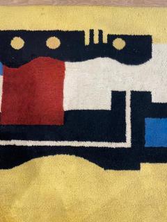 Fernand Leger Boccara artistic rug Fernand L ger Jaune 9 - 1306908