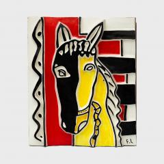 Fernand Leger Le cheval sur fond rouge - 1189914