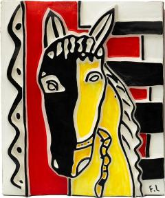 Fernand Leger Le cheval sur fond rouge - 1190102