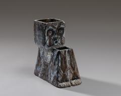 Fernande Kohler Fernande Kohler Sculptural Vase In Glazed Ceramic Vallauris France 1970s - 2039826