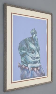Fernando Luis Dominguez Fernando Luis Dominguez Abstract Figural Painting - 1041275