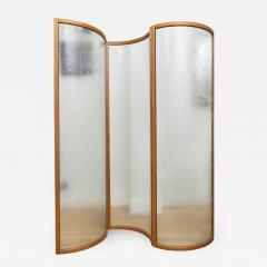 Fiam Glass Voyeur Screen Room Divider By Vittorio Livi For Fiam - 899331