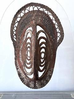 Fiber Polychrome Mask Yam Ancestor Papua New Guinea - 1961207