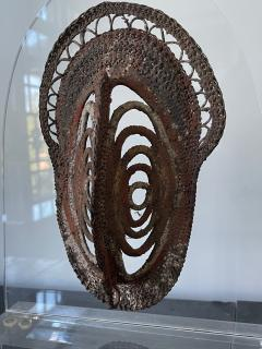 Fiber Polychrome Mask Yam Ancestor Papua New Guinea - 1961208