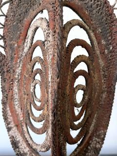 Fiber Polychrome Mask Yam Ancestor Papua New Guinea - 1961210