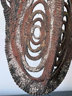 Fiber Polychrome Mask Yam Ancestor Papua New Guinea - 1961212