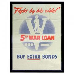 Fight By His Side War Bond Poster - 640382
