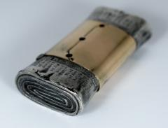 Figural Matchsafe in form of Scientific American Newspaper - 323910