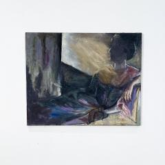 Figurative Painting of a Woman Reclining - 1906227