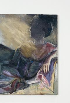 Figurative Painting of a Woman Reclining - 1906228