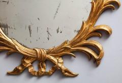 Fine 18th Century English Giltwood Oval Mirror - 645274